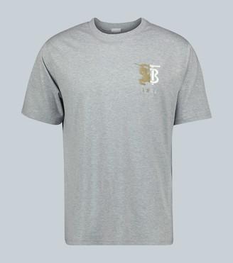 Burberry Hesford monogrammed cotton T-shirt