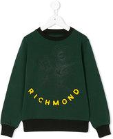 John Richmond Kids Richmond logo sweatshirt