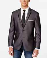 Alfani Men's Charcoal Slim Fit Evening Jacket, Only at Macy's