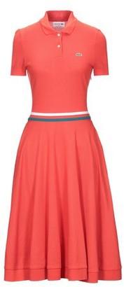 Lacoste Knee-length dress