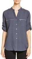 Calvin Klein Zip Pocket Roll Sleeve Shirt