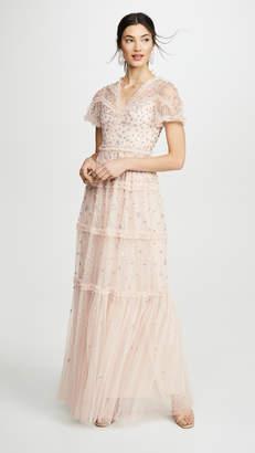 Needle & Thread Ruffle Glimmer Gown