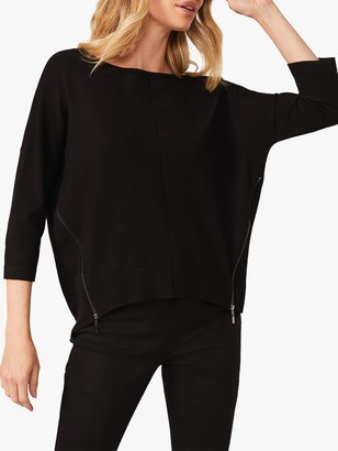 Phase Eight Skylar Zip Seam Knit Jumper