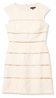 Jax Women's Extended Sleeve Lace Shift