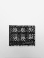 Calvin Klein Basketweave Passcase Wallet
