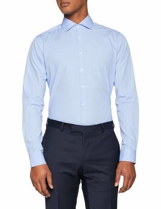 Seidensticker Men's X-Slim Langarm mit Kent-Kragen Soft Gepunktet Business Shirt