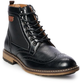 Sonoma Goods For Life Amos Men's Wingtip Ankle Boots