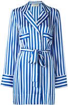 By Malene Birger striped shirt - women - Silk/Polyester - 34