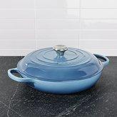Crate & Barrel Le Creuset ® Signature 3.75 qt. Marine Blue Everyday Pan