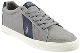Polo Ralph Lauren Hugh Lace Up Canvas Trainers