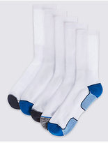 M&S Collection 5 Pairs of Cool & FreshTM Sports Socks