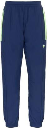 adidas Navy Blue Triple Stripe Track Pants