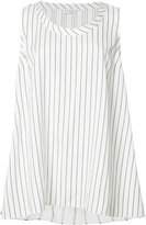 Brunello Cucinelli striped tank top - women - Silk - XS