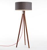 Rejuvenation Folk Floor Lamp - Walnut