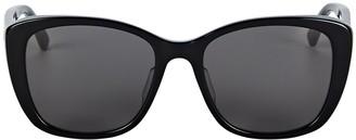 Bottega Veneta Rectangular Cat Eye Sunglasses