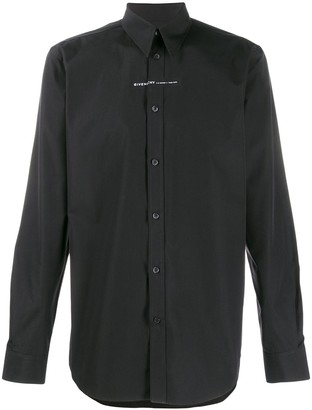 Givenchy Small Contrasting Panel Shirt