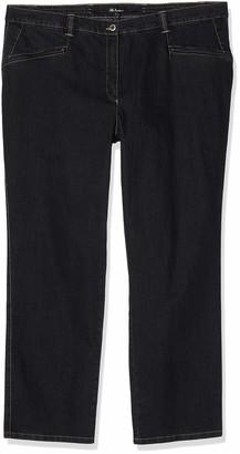 Ulla Popken Women's Stretchjeans Mony K Slim Jeans