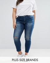 Junarose Busted Knee Skinny Jeans