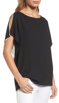 Anne Klein Women's Slit Sleeve Blouse