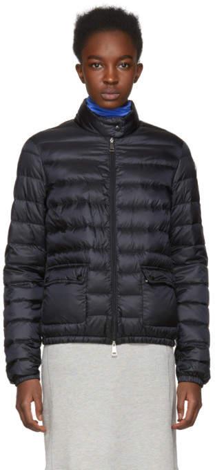 Moncler Black Down Lans Jacket