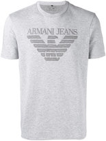 Armani Jeans printed T-shirt - men - Cotton/Polyamide - M