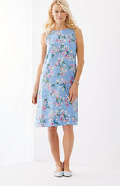 J. Jill Linen A-Line Sleeveless Dress