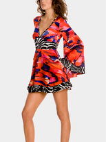 Azteca Kimono Dress