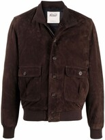 Thumbnail for your product : Valstar Buttoned Leather Jacket