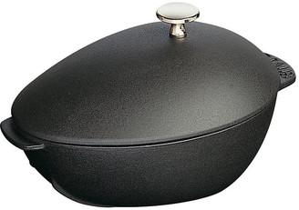 Staub 2 Qt Cast Iron Mussel Pot - Matte Black