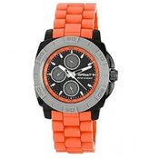 Sprout Men's ST/3800BKOR Orange Corn Resin Water Resistant Multi-Function Watch