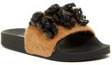 Jeffrey Campbell Jova 3 Teds Faux Fur Slide Sandal