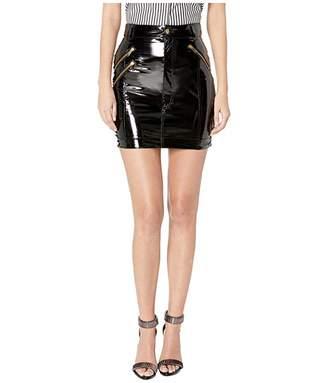 Versace Patent Skirt