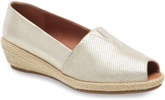 Kenneth Cole Gentle Souls by Luca Open Toe Wedge Espadrille