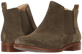 Clarks Taylor Shine (Dark Olive Suede) Women's Boots