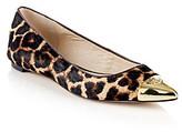 "MICHAEL Michael Kors Paxton"" Dress Flat - Natural Leopard"