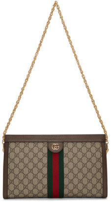Gucci Beige Medium GG Ophidia Bag