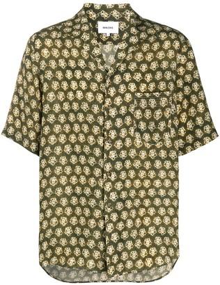Nanushka Ville tie dye camp shirt