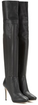Jimmy Choo Hayley 100 Over-the-knee Leather Boots