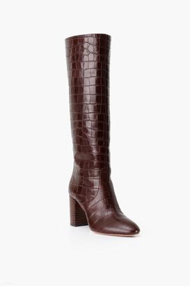 Loeffler Randall Dark Brown Goldy Tall Boot