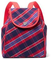 Tommy Hilfiger Pink Plaid Backpack