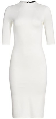 Alice + Olivia Delora Knit Bodycon Dress