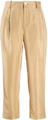 Vince Cropped Relaxed Trousers