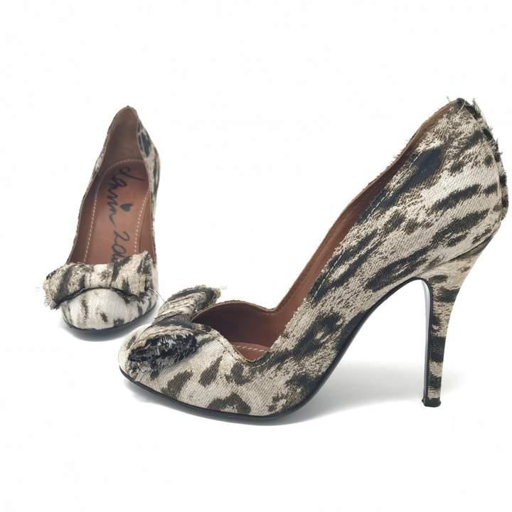 Lanvin Beige Cloth Heels