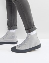Converse Chuck Taylor All Star II Hi Sneakers In Gray 155702C