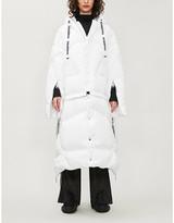 Selfridges Khrisjoy Detachable-hem shell-down jacket