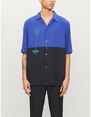 Paul Smith x Christoph Niemann Sunset woven shirt