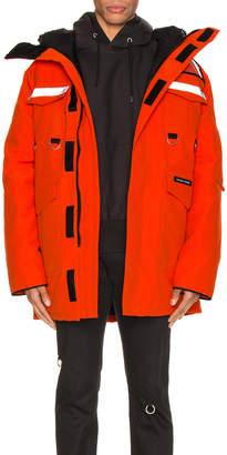 Junya Watanabe x Canada Goose Jacket in Orange   FWRD