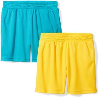 Spotted Zebra Amazon Brand Big Boys' 2-Pack Active Mesh Shorts