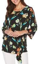 Rafaella Floral Side Tie Tunic