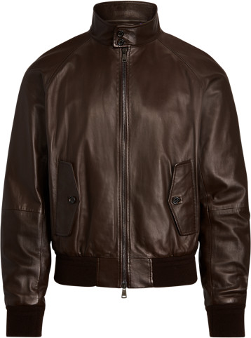 Thumbnail for your product : Ralph Lauren Torrence Plonge Leather Jacket
